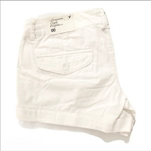 🍒2/20$ American Eagle White Shorts NWT